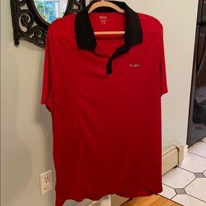 Reebok Play Dry Men's Collar Golf Shirt